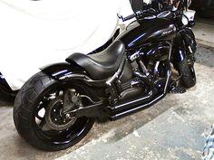 2008 Yamaha Road Star Warrior Midnight, 260 Rear, Tricky Air, Custom Exhaust, & more - Club Chopper Forums