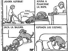 Comics de como es vivir con un perro - Taringa!