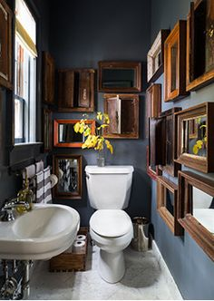 Get inspired by Eclectic Bathroom Design photo by Chango & Co. Wayfair lets you find the designer products in the photo and get ideas from thousands of other Eclectic Bathroom Design photos. Home, Eclectic Bathroom, Home Remodeling, House Interior, Small Bathroom, Bathroom Design, Bathroom Decor, Beautiful Living, Bathroom Renovation