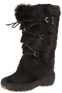 Pajar Women's Davos Boot, Black Goat, 38 EU/7-7.5 M US -- Read more reviews of the product by visiting the link on the image.