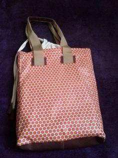 torba z tkaniny ikeowej ;)