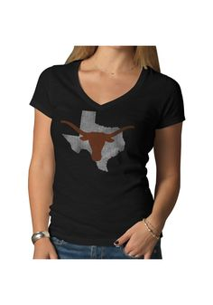 University of Texas (UT) Longhorns Women's Black Shirt http://www.rallyhouse.com/shop/texas-longhorns-47-brand-48011118?utm_source=pinterest&utm_medium=social&utm_campaign=Pinterest-TexasLonghorns $39.99