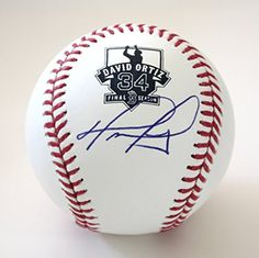 David Ortiz Boston Red Sox Signed Autographed Rawlings Official Major League Final Season Baseball ** Check out the image by visiting the link.