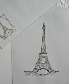 Elegant Eiffel TowerSimplicity of Design With by MountainMarket, $5.00