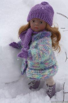 Ателье для Ирис. Игровые куклы Sylvia Natterer. Minouche / Sylvia Natterer, Сильвия Наттерер. Коллекционно-игровые куклы / Бэйбики. Куклы фото. Одежда для кукол