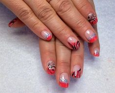 coral by Melinailfreak - Nail Art Gallery nailartgallery.nailsmag.com by Nails Magazine www.nailsmag.com #nailart