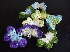 Ravelry: Project Gallery for Butterfly Grace pattern by Chrissy