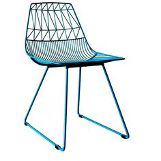 The Lucy Chair is the counter-part to the Ethel Chair. They are great as pair or on their own. The Lucy Chair is a little zanier than her counterpart, but just