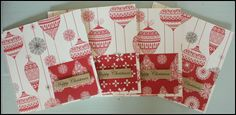 Handmade Set of 4 Christmas Cards £5.00