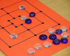 (0.-9.lk) Miilu « OuLUMA – Pohjois-Suomen LUMA-toiminnan foorumi - Miilupelissä tavoitteena on saada joko syötyä vastustajalta 7 pelinappulaa tai saada vastustaja sellaiseen tilanteeseen ettei hän voi liikkua. Joko, Preschool Activities, Triangle, Math, Games, Play, Math Resources, Gaming, Plays