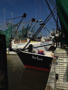 Shrimp boats - Dulac, Louisiana