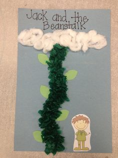 jack and the beanstalk crafts - Google Search