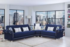 Ivory Blue Living Room Design With Soft Gray Linen . 26 Cool Brown And Blue Living Room Designs DigsDigs. Interior Design Color Trends For Home and Family Royal Blue Sofa, Blue Sofa Set, Living Room Sofa, Living Room Furniture, Living Rooms, Blue Sectional, Sectional Sofas, Fabric Sectional, Sofa Beds