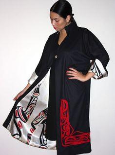 Raven Coat - by Dorothy Grant... Your unforgettable hedonistic holiday -  Find Out More http://hedonism.holiday/
