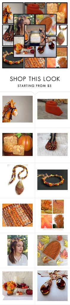 """Pumpkin Spice"" by andreadawn1 ❤ liked on Polyvore"