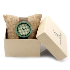 BOBO BIRD B0195 Wooden Bamboo Watch with Genuine Brown Leather Strap Quartz Analog High Quality Miyota Movement With Gift Box