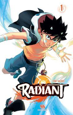 Radiant, série manga (shonen) fantastique de Tony Valente. Manga Art, Anime Manga, Anime Guys, Anime Art, Danielle Steel, Radiant Manga, Magical Girl, Vanitas, Nouveau Manga
