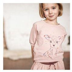 A @bonheurdujourparis mostra um pouquinho da sua próxima coleção. Está show, hein?!! #kids #news #fashion #cool 💞