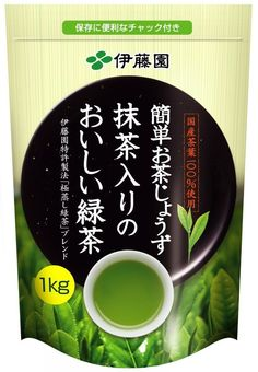 A lot of good green tea in one bag.