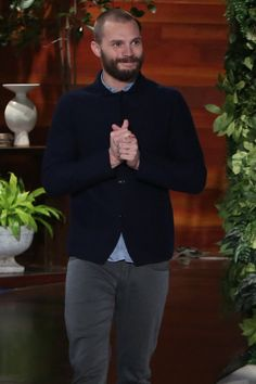 Jamie Dornan Blushes 50 Shades of Red While Ellen DeGeneres Interrogates Him About Sex Toys