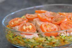 Je remonte une petite recette bien ancienne de ce blog, recette que j'ai publiée tout au début de ce blog mais que je fais très très souvent à la maison car mes enfants adorent. Du poisson et des légumes, le tout cuit au four, donnant un plat léger et...