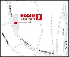 Kodin1, Kolmisoppi, Kuopio. Kolmisopentie 3, 70780 KUOPIO. Puh. 01053 49700. Aukioloajat: ma-pe 9-21, la 9-18, su 12-18 (poikkeukset mahdollisia). Line Chart, Diagram