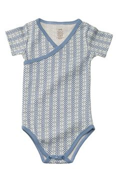 Petunia Pickle Bottom Organic Cotton Short Sleeve Bodysuit (Baby) available at #Nordstrom