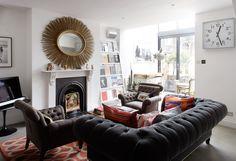 Jo Berryman living room, different setup, same display shelf
