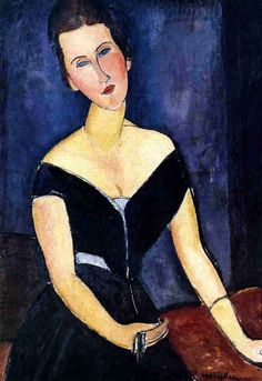 Portrait de Madame George Van Muyden Amedeo Modigliani