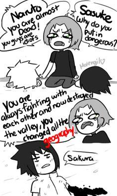 Naruto Shippuden 699 parody fan comic by malengil. Page 2