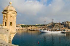 Valletta Harbor in Malta #travel