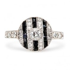 Vintage Engagement Rings | Antique Engagement Rings | Art Deco Engagement Rings