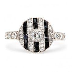 Vintage Engagement Rings | Antique Engagement Rings | Art Deco Engagement Rings