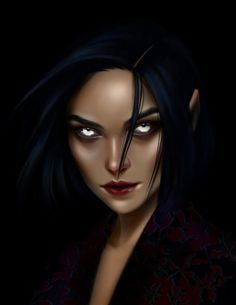 Amren from A court thorns and roses series by Morgana0anagrom