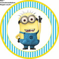 Despicable Me Free Printable Candy Bar Labels. Despicable Me Party, Minions Despicable Me, My Minion, Minion Theme, Minion Birthday, My Themes, Party Themes, Minion Stickers, Minion Card