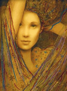 Csaba Markus Le Femme Suite of 4 Serigraphs on Wood Panel