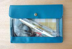 ジェネラルパーパスケースに文房具を収納しているブログ画像