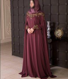 Nothing - Ladys Marron Islamic Fashion, Muslim Fashion, Ethnic Fashion, Modest Fashion, Fashion Dresses, Modele Hijab, Niqab Fashion, Mode Abaya, Hippy Chic