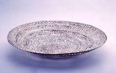 Schale aus Silber autogen geschweißt