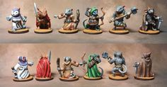 Mice and Mystics Heroes ~ Thunder God Minis