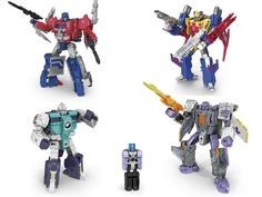 Titans Return Siege on Cybertron Character Bios And Story Scans