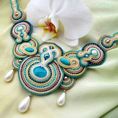 Aurus: soutache..not sure what this means but its very pretty