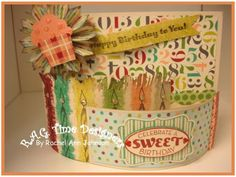 My Birthday Bendie Card by latticelady - Cards and Paper Crafts at Splitcoaststampers