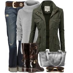 """MK Blake Boot"" by wishlist123 on Polyvore"