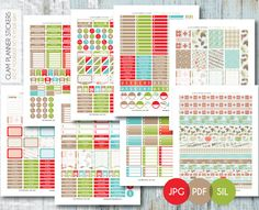 Planner Addiction – Page 2 – Free DIY Printables for Planner