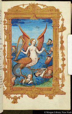 Les abus du monde, M.42 fol. 15r - Images from Medieval and Renaissance Manuscripts - The Morgan Library & Museum