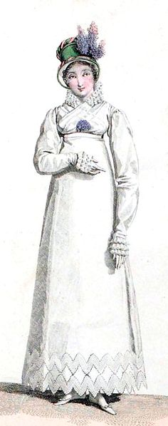 Walking Dress, 1816.