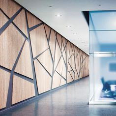Interior Design HiP Awards Architecture Building Products Winner: Acrovyn Wall Panels by Construction Specialties Interior Design Magazine, Office Interior Design, Interior Walls, Office Interiors, Plywood Interior, Plywood Walls, Wall Cladding Interior, Office Wall Design, Wood Flooring