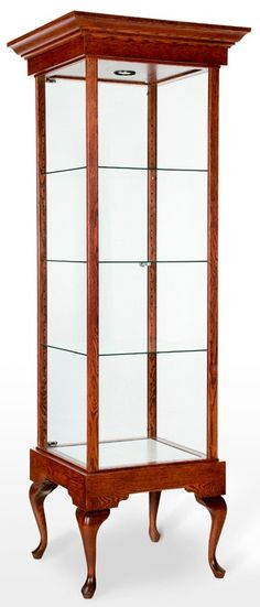 Just found this at #TheShopCompany - Tall Square Trophy Tower Showcase / Display Case - Queen Anne Collection