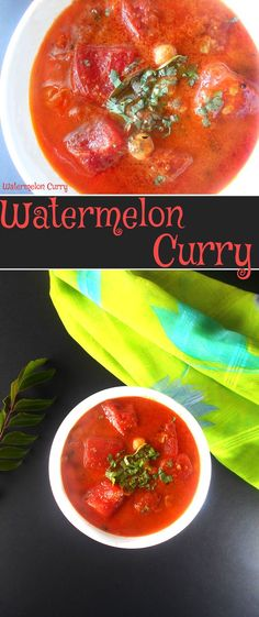 Watermelon curry rec